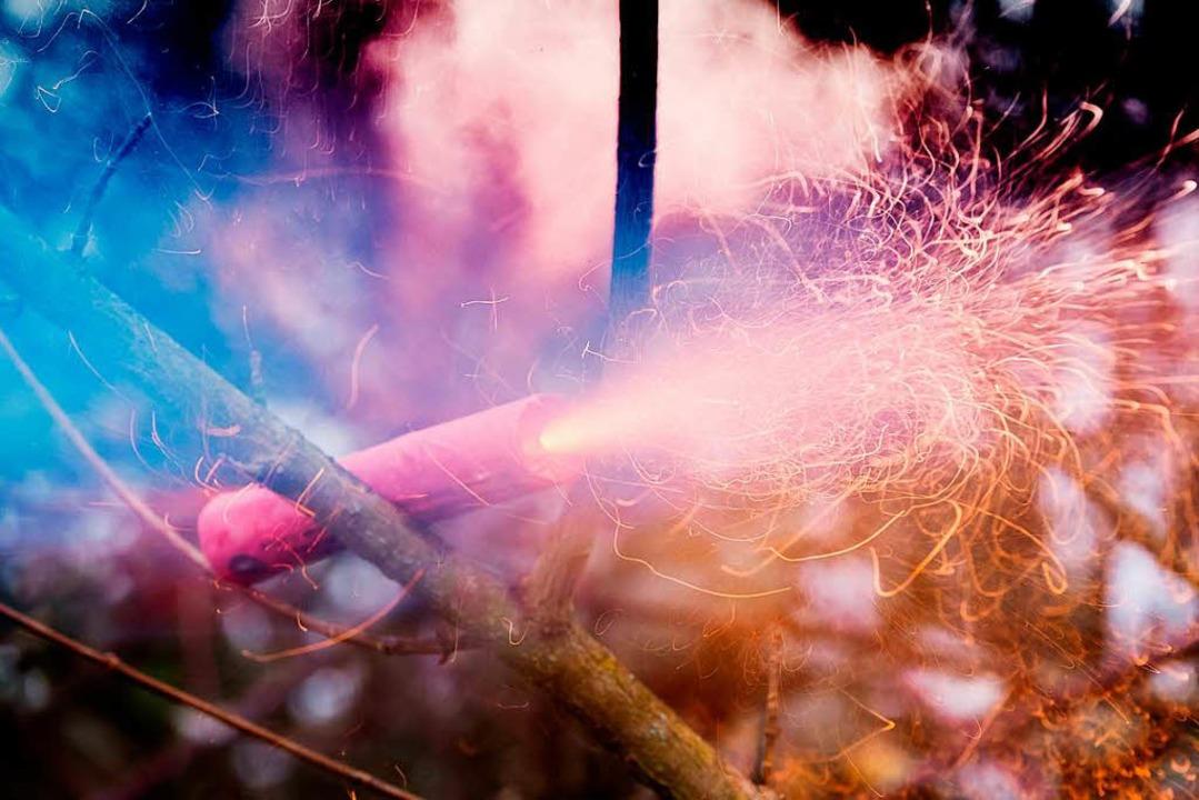 Bei sieben Einsätzen wurde die Feuerwe...keine gezielten Angriffe (Symbolbild).  | Foto: dpa