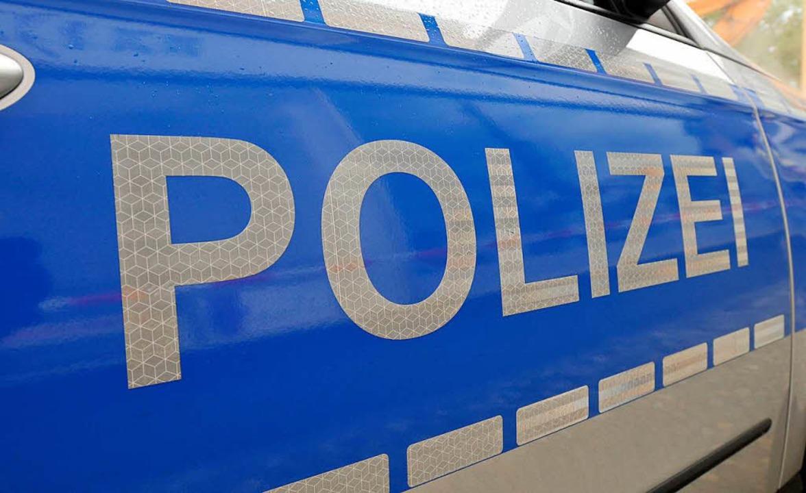 Als die Polizei eintraf, war die Frau ...in nahegelegenes Gebäude verschwunden.  | Foto: Ingo Schneider