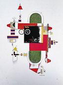 Ausstellung von Rudolf Bauer im Hilla-von-Rebay-Haus