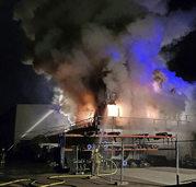 Großbrand in Klingnau