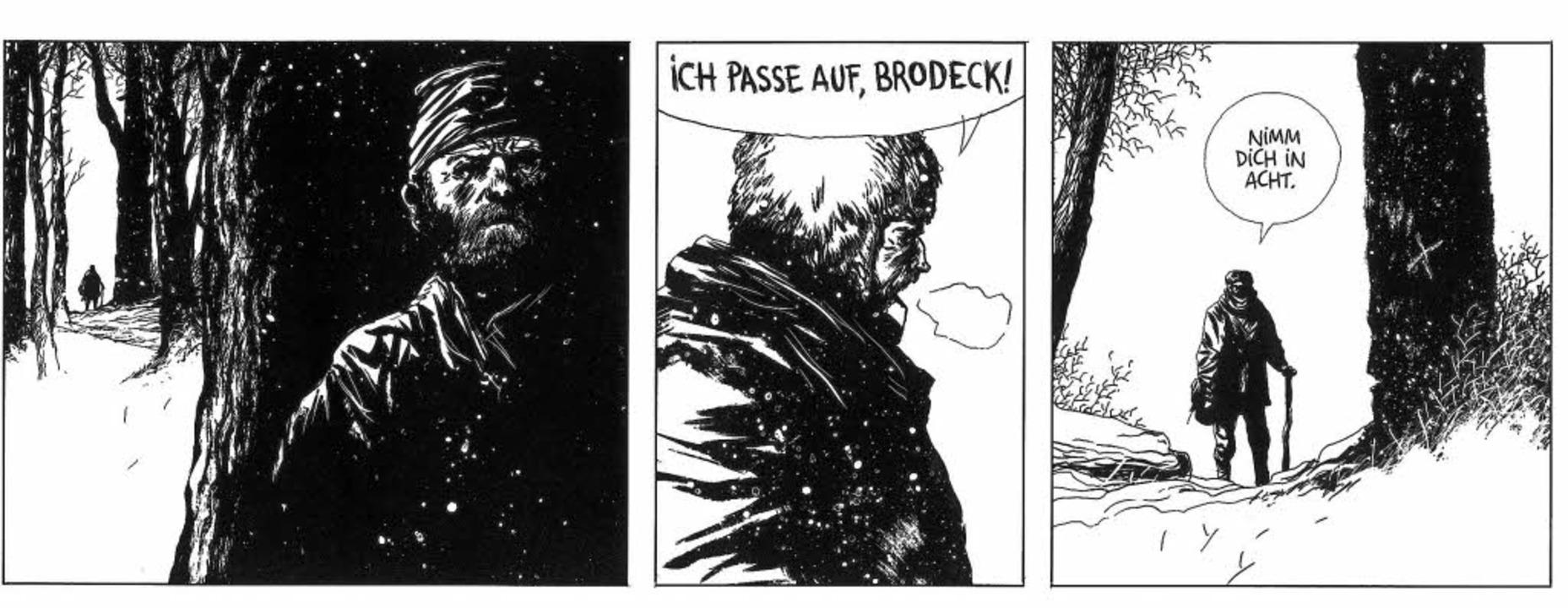 Atemberaubendes Gespür für Motive und ...rcenets meisterhafter Comic-Adaption    | Foto: Manu Larcenet