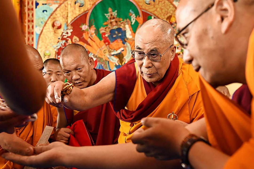 Der Dalai Lama   | Foto: M. Bauer