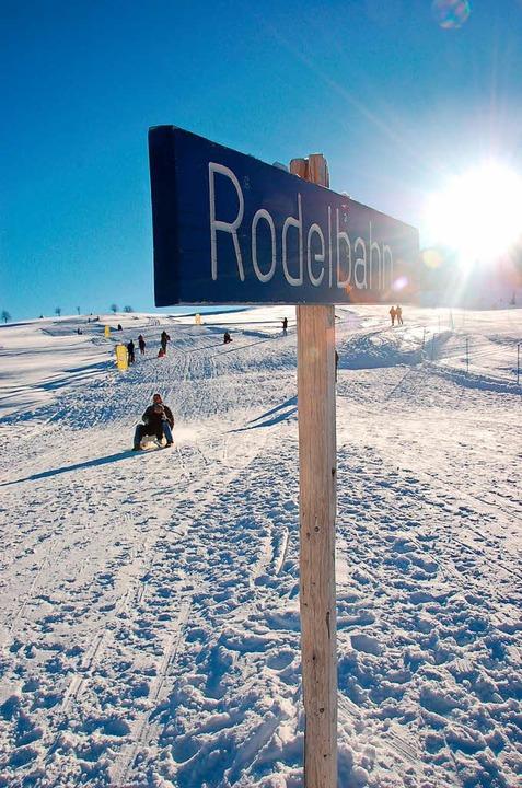Ski und Rodel gut im Schwarzwald? Eher nicht<ppp></ppp>  | Foto: Kathrin Blum