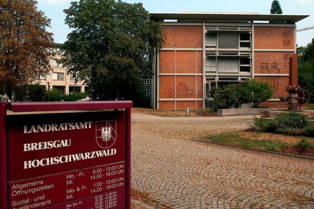 Landratsamt Breisgau-Hochschwarzwald  | Foto: Ingo Schneider