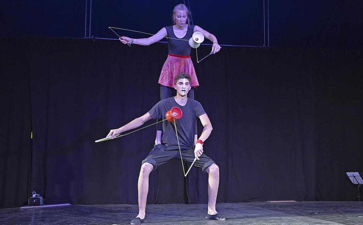 Neue Trainer, neues Programm: 2018 beim Zirkus Ragazzi   | Foto: Ragazzi