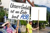 Abgeordnete halten Chancen, dass Regierungspräsidium bei A98 nachbessern muss für realistisch