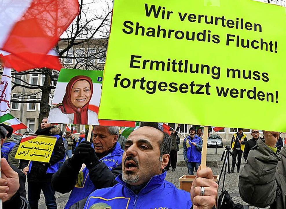 Protest gegen Schahrudi   | Foto: dpa