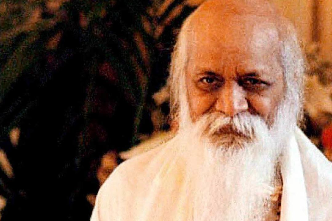 Maharishi Mahesh Yogi im Jahr 2001  | Foto: epa/Peter Wijnands