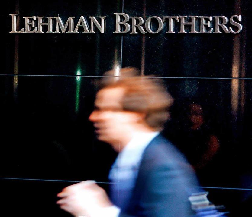 Die neuen Vorgaben für die Banken sind eine Lehre aus der Finanzkrise 2007/2008.  | Foto: dpa