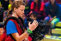 """Nelli Riehle aus Seelbach war Kamerakind bei """"1, 2 oder 3"""""""