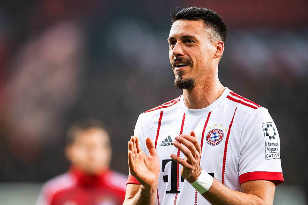 Wurde in der 79. Minute eingewechselt ...r die Bayern: Neuzugang Sandro Wagner.  | Foto: dpa