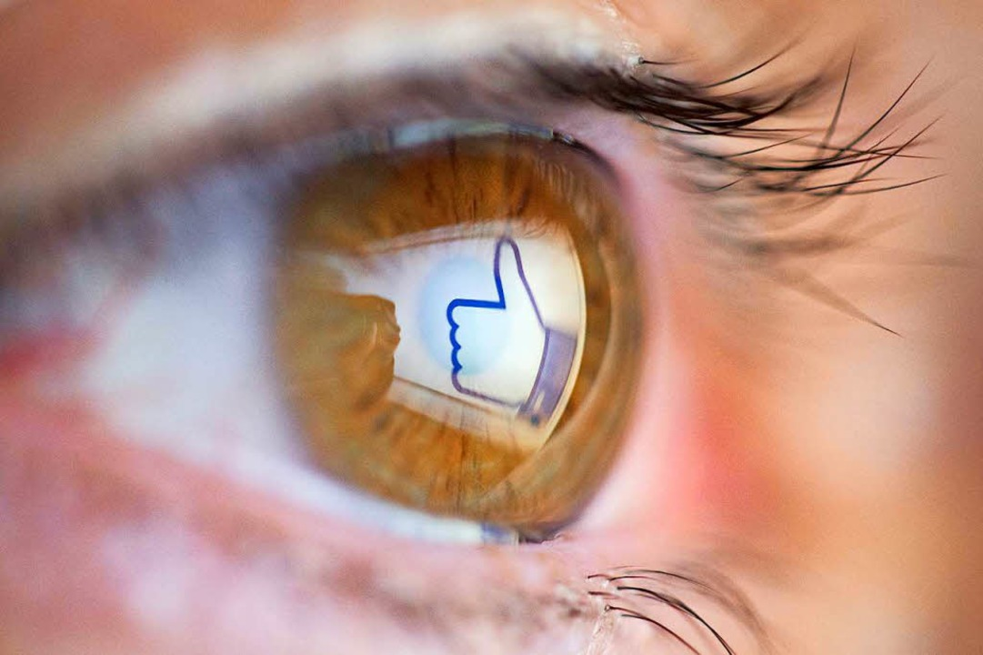 Nutzer sollen seltener den Like-Button sehen, plant Facebook-Gründer Zuckerberg.  | Foto: dpa