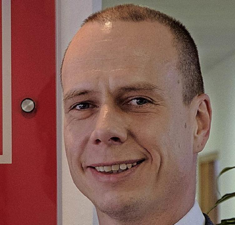 Marco Sprengler, Geschäftsführer der Gewerkschaft IG Metall Freiburg    Foto:  taschinski