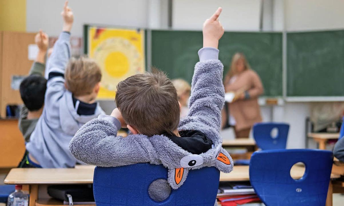 Für einen reibungslosen Ablauf an den ...re –  besonders an Grundschulen.  | Foto:  dpa