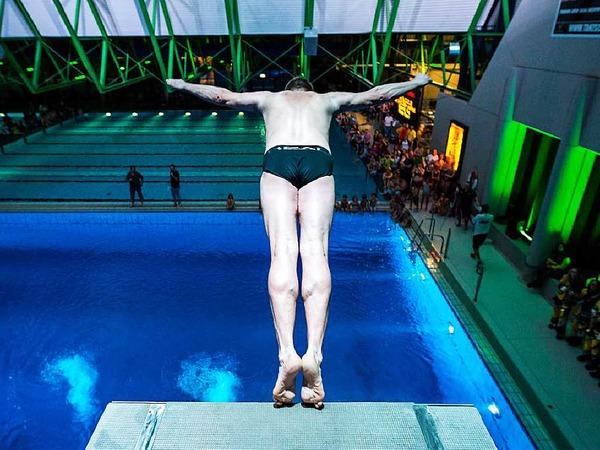 Südbadens größtes Wassersportevent im Westbad