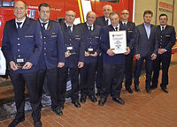 Einsatzreiches Jahr für die Feuerwehr