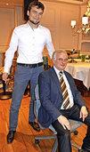 """Albert Zähringer ist """"ein Glücksfall für die Gemeinde"""""""