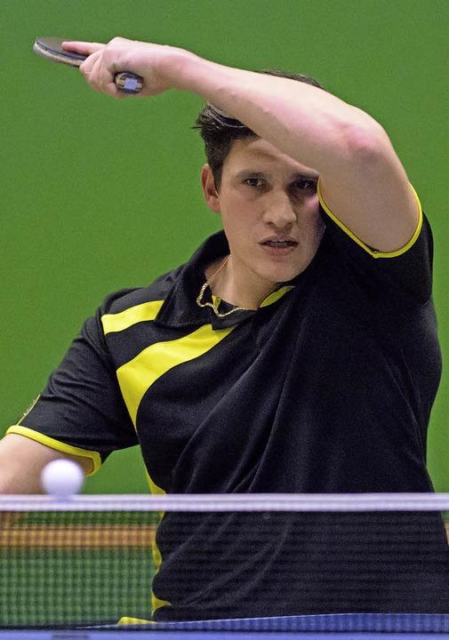 <BZ-FotoAnlauf>Tischtennis:</BZ-FotoAn... Eichsel jedoch den Rückrundenauftakt.  | Foto: Gerd Gründl