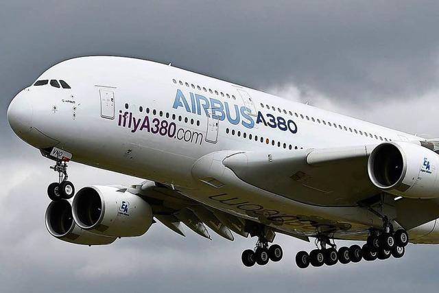 Airbus-Verkaufschef stellt die Zukunft des A 380 infrage