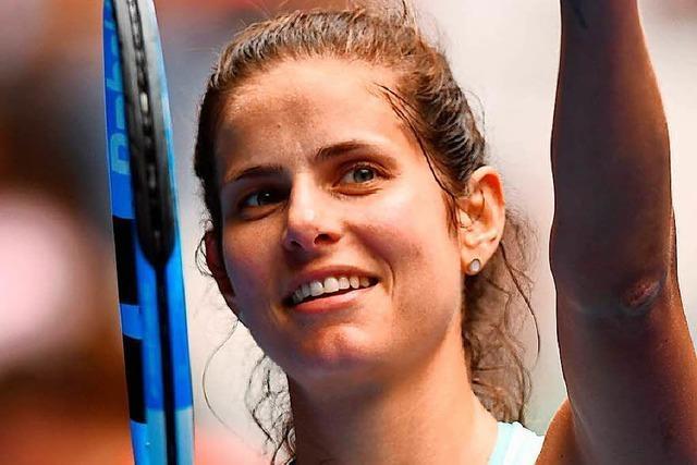 Julia Görges – die neue Nummer Eins im deutschen Tennis