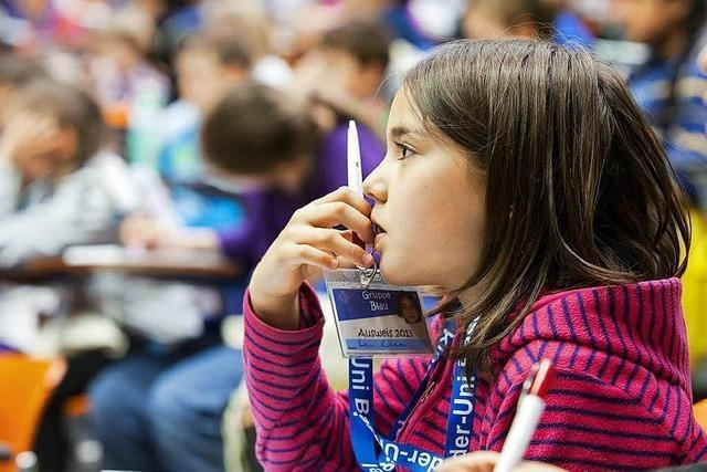 Kinder-Uni Basel will Neugier für Wissenschaft wecken
