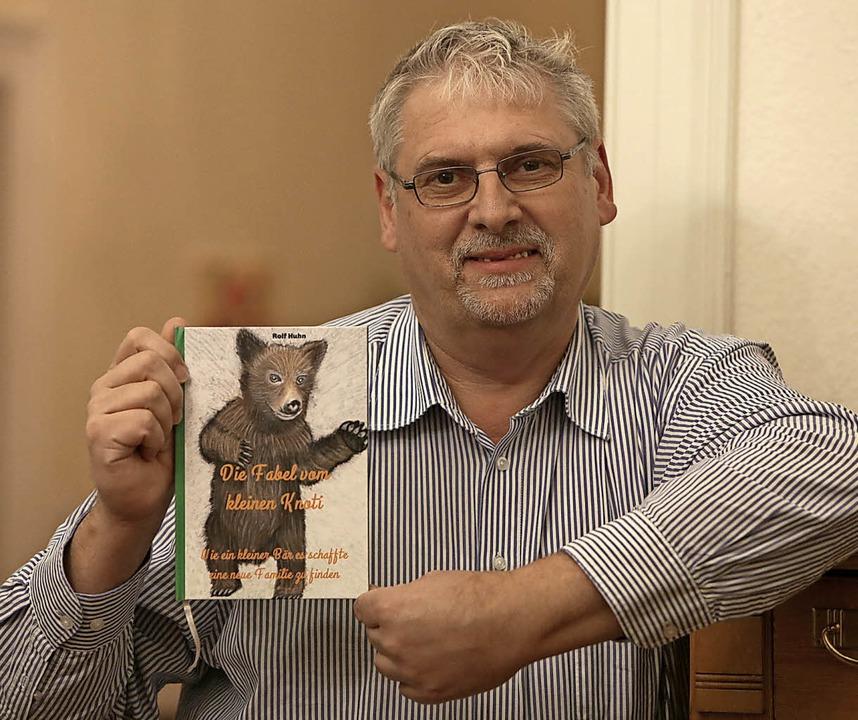 Rolf Huhn sieht sein Buch nicht nur als Ratgeber.    Foto: christoph breithaupt