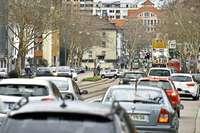 Der Verkehr auf der Zähringer Straße nervt die Anwohner