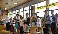Erstes Jahr ohne Schloss Beuggen bewegt Musikverein