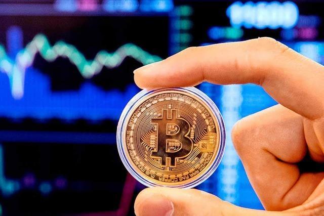 Der Kurs des Bitcoin stürzt ab