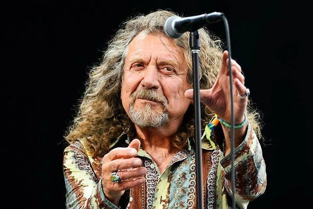Robert Plant kommt zum Stimmen-Festival
