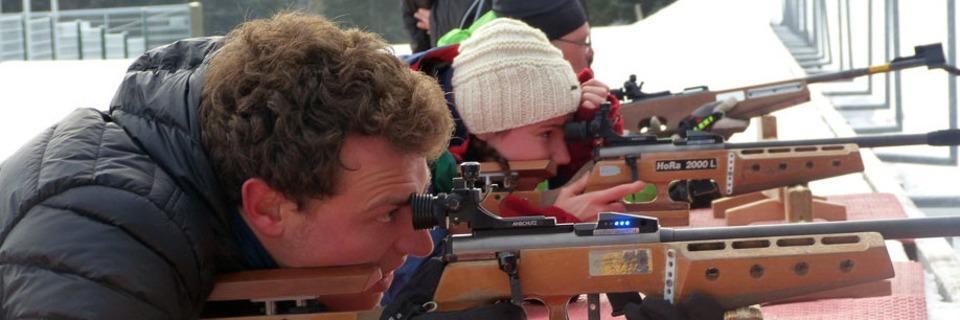 Selbstversuch Biathlon: Jeder Schuss ein kleiner Adrenalinkick