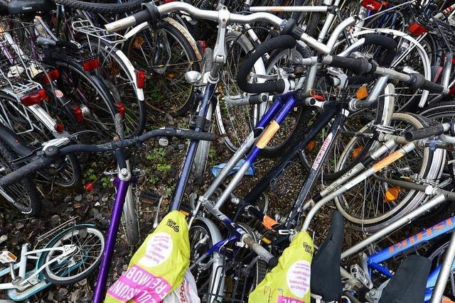 Stadt Freiburg lässt Schrottfahrräder entfernen