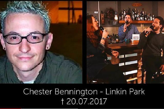 Eine Freiburger Band verabschiedet sich musikalisch von Chester Bennington, Chuck Berry und Malcolm Young