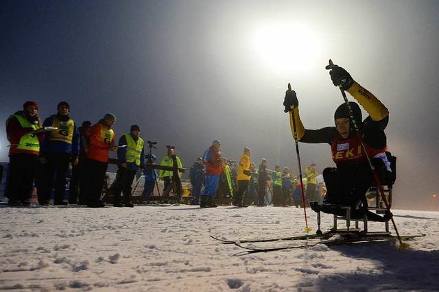Am Notschrei findet ab dem Wochenende der Weltcup im Paraski statt