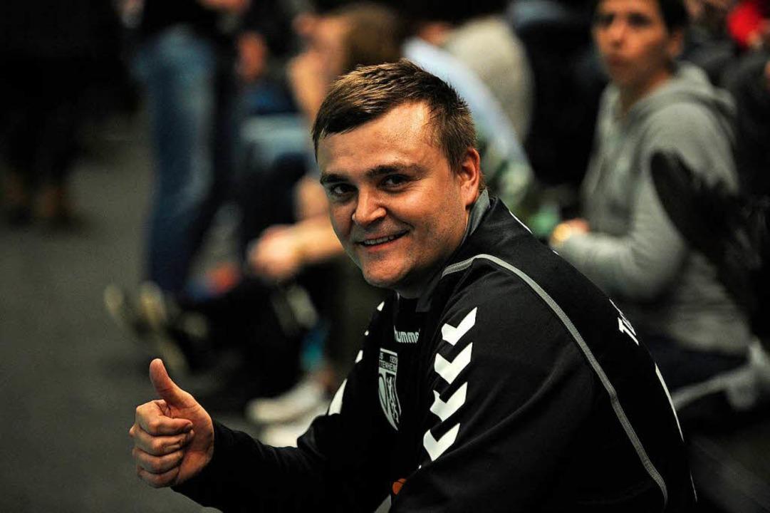 Florian Langenbach kommt vom HGW Hofwe...um TuS zurück und wird Torwarttrainer.    Foto: Bettina Schaller