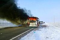 52 Menschen sterben in altem, deutschen Reisebus in Kasachstan