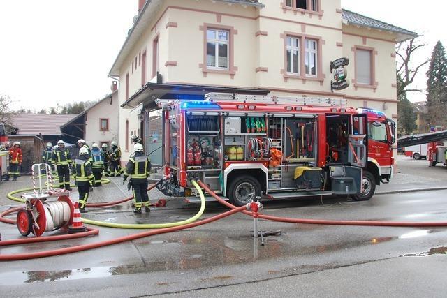 Kanderner Kulturkneipe Chabah brannte - zwei Kinder gerettet