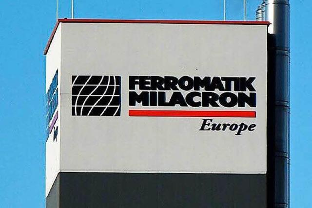 Ferromatik Milacron schließt Produktion in Südbaden früher