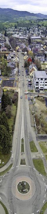 Im Mai/Juni startet  die Sanierung der Merzhauser Ortsdurchfahrt.  | Foto: Michael Saurer