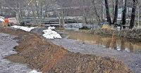 Baugebiet mit Hochwasserrisiko