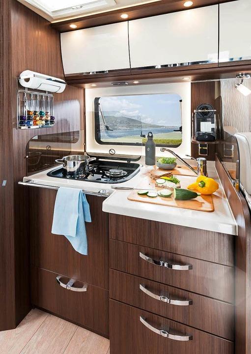 Früher war mehr Campingkocher: Küche im Wohnmobil  | Foto: Morelo