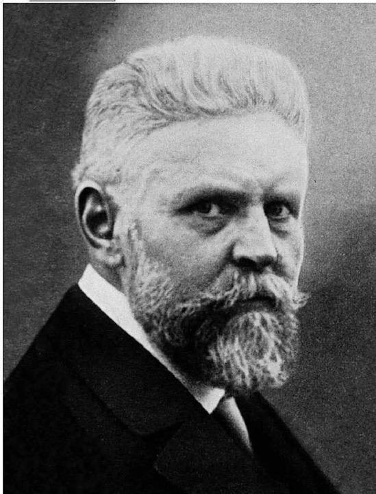 Arzt Alfred Ploetz prägte den Begriff der Rassenhygiene.  | Foto: Wikipedia