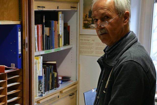 Bruno Schaubrenner leitet das Gedächtnis des Historischen Vereins Oberschopfheim