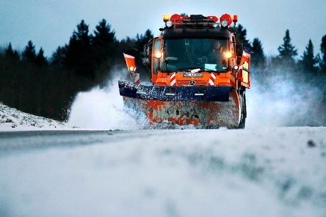 Wetterdienst rechnete mit starkem Schneefall – Hochwasser möglich