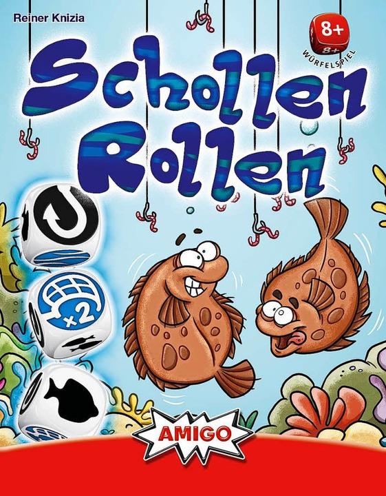 Für Kinder ab 8: Schollen rollen.  | Foto: Amigo Verlag
