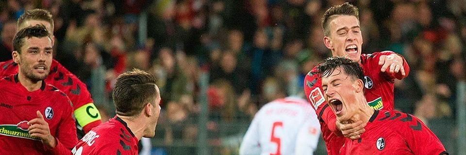 Standardmonster SC Freiburg besiegt RB Leipzig mit 2:1