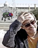 Auf die Fliege gekommen