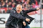 Fotos: So schön feierte Christian Streich den Sieg des SC Freiburg über RB Leipzig