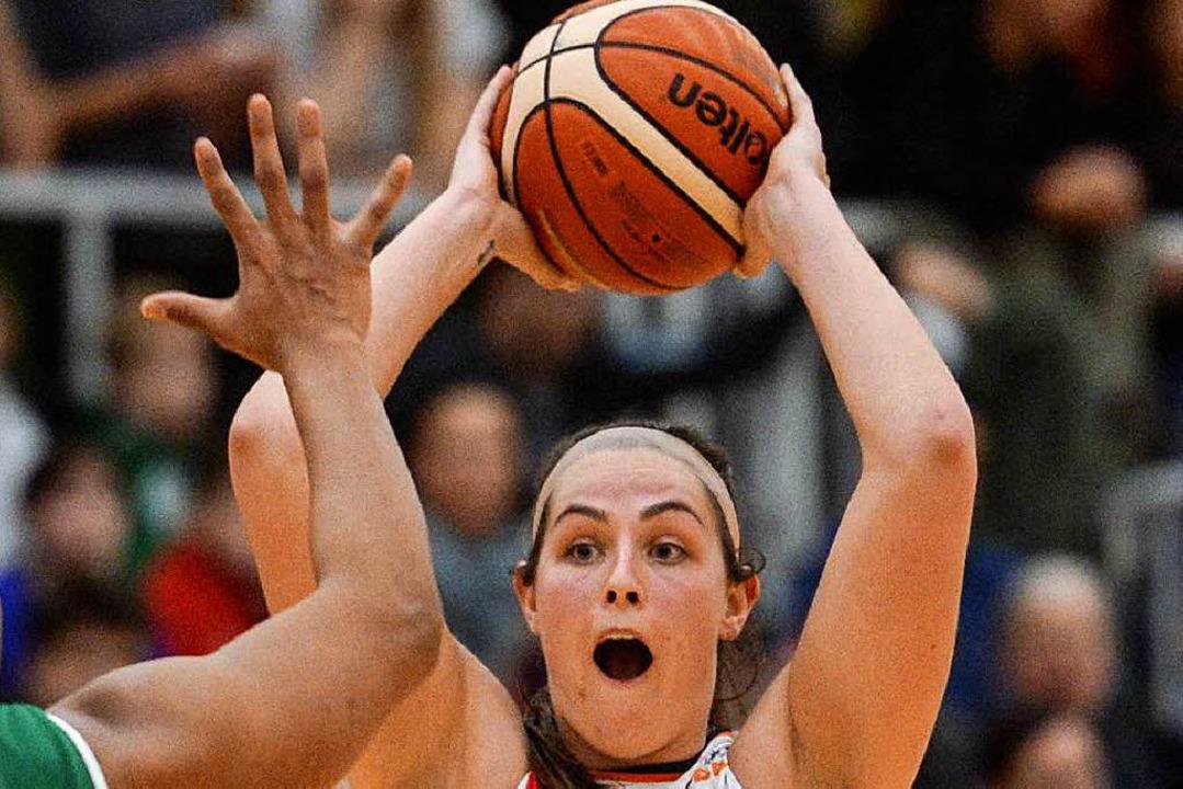 Kristen Elise Gaffney war mit 25 Punkt... Niederlage abwenden konnte sie nicht.  | Foto: pas