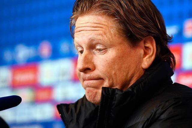HSV reagiert auf Krise und entlässt Trainer Gisdol